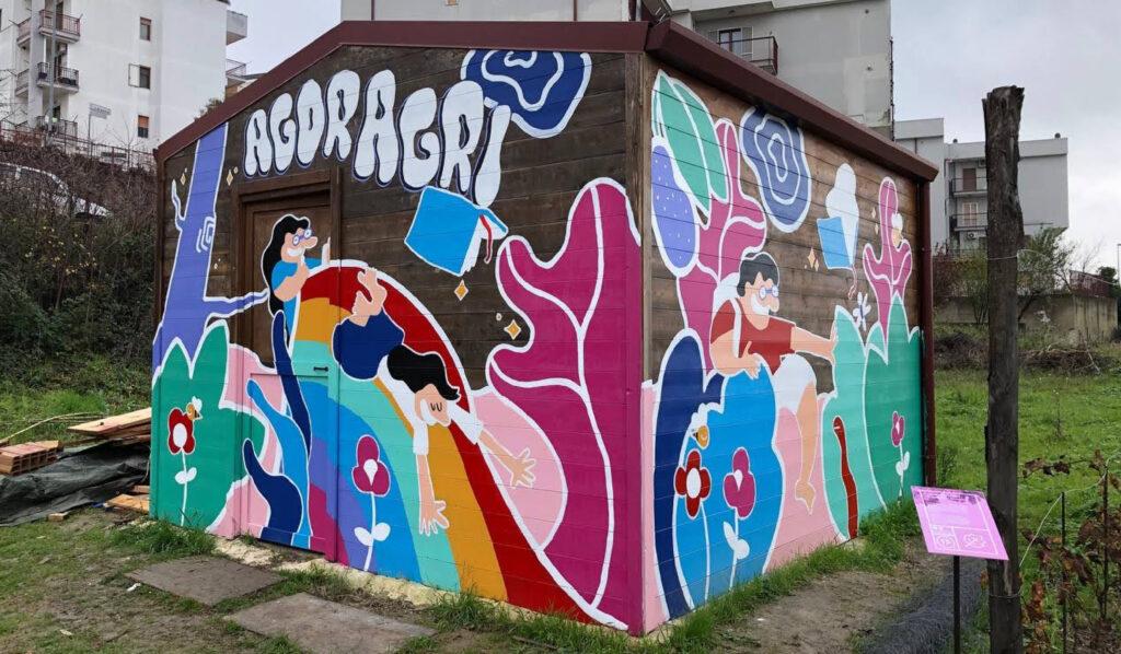 Agoragri Collaborative mural 4